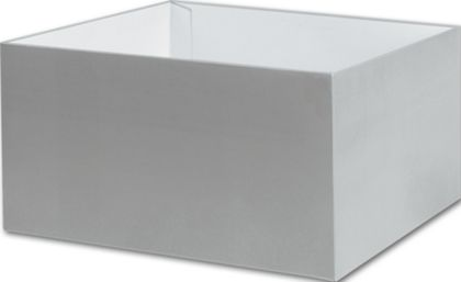 Silver Gift Box Bases, 10 x 10 x 5 1/2""