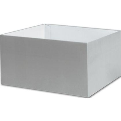 "Silver Gift Box Bases, 10 x 10 x 5 1/2"""