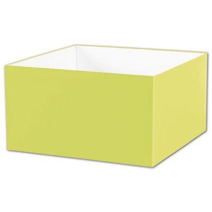 "Pistachio Gift Box Bases, 10 x 10 x 5 1/2"""