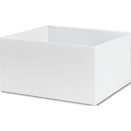 """White Gift Box Bases, 10 x 10 x 5 1/2"""""""