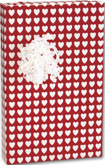 Valentines Jeweler's Roll Gift Wrap, 7 3/8