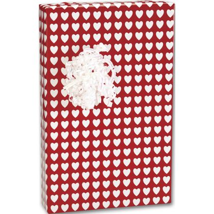 "Valentines Jeweler's Roll Gift Wrap, 7 3/8"" x 100'"