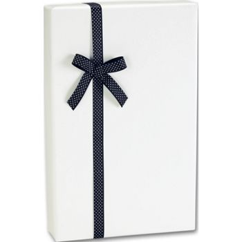 Ultra White Gloss Jeweler's Roll Gift Wrap, 7 3/8