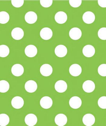 Lime Sunny Dots Gift Wrap, 24