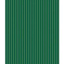 """Gold & Green Stripe Gift Wrap, 24""""x100'"""