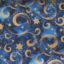 "Gold Star Chanukah Gift Wrap, 24"" x 100'"