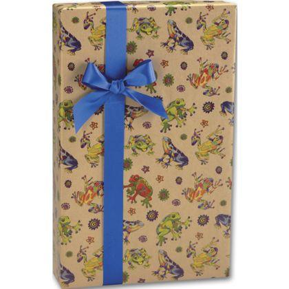 "Hop to It/Kraft Gift Wrap, 24"" x 100'"
