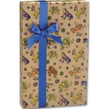 "Hop to It/Kraft Gift Wrap, 24"" x 417'"