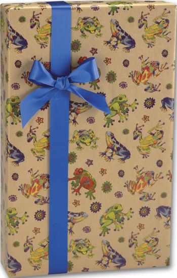 Hop to It/Kraft Gift Wrap, 24