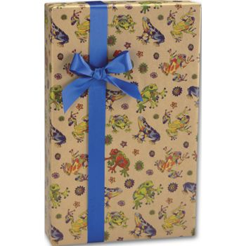 "Hop to It/Kraft Gift Wrap, 24"" x 417'"