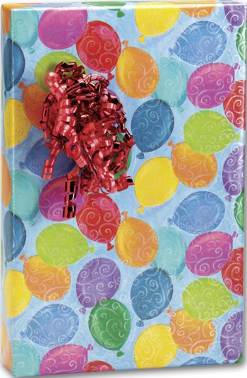 Balloons Galore Gift Wrap, 24