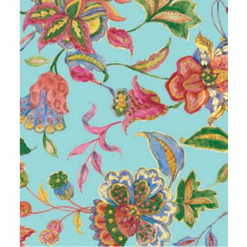 "Crewel Embroidery Gift Wrap, 24"" x 100'"