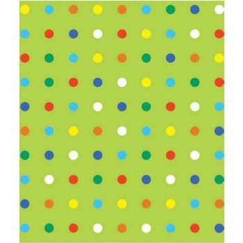 "Party Dot Gift Wrap, 24"" x 100'"