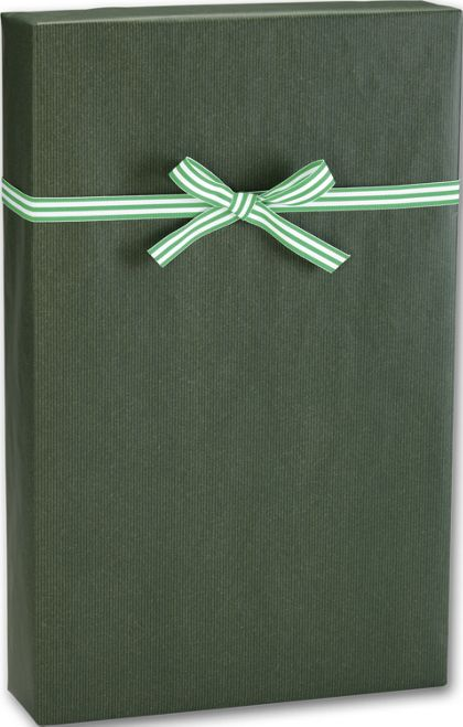 "Dark Green/Kraft Gift Wrap, 24"" x 100'"