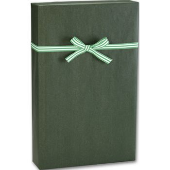 Dark Green/Kraft Gift Wrap, 24