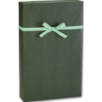 "Dark Green/Kraft Gift Wrap, 24"" x 417'"