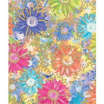 Gilded Daisy Gift Wrap, 24