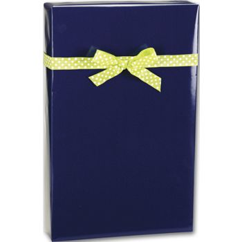 "Navy Ultra Gloss Gift Wrap, 24"" x 417'"