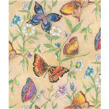 """Butterflies Gift Wrap, 24"""" x 417'"""