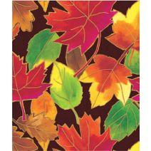 "Autumn Leaves Gift Wrap, 24"" x 100'"