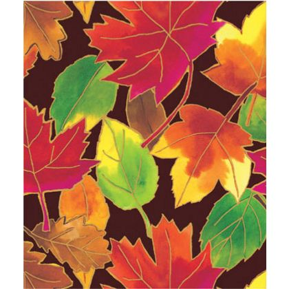 "Autumn Leaves Gift Wrap, 24"" x 100'"