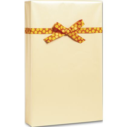 """Champagne Pearl Gift Wrap, 24"""" x 100'"""