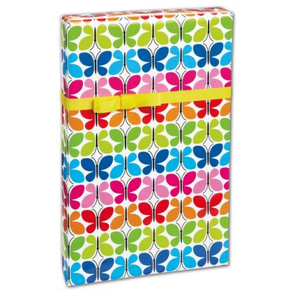 "Butterfly Reflections Gift Wrap, 24"" x 100'"