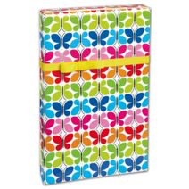 """Butterfly Reflections Gift Wrap, 24"""" x 417'"""
