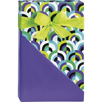 Arch Deco Reversible Gift Wrap, 24