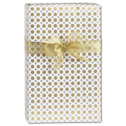 "Bullion Gift Wrap, 24"" x 100'"
