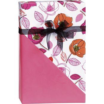 Florabunda Reversible Gift Wrap, 24