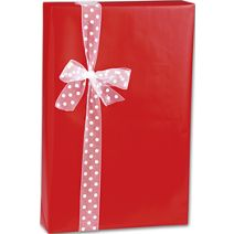 """Red Ultra Gloss Gift Wrap, 24"""" x 100'"""