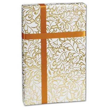 Damask Blooms Gift Wrap, 24