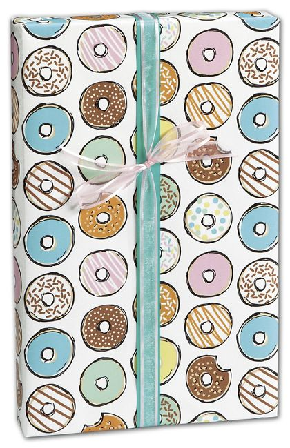 "One More Bite Gift Wrap, 24"" x 417'"