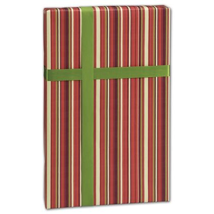 "Earth Stripes Gift Wrap, 24"" x 100'"