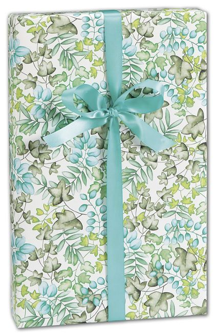 "Splash of Spring Gift Wrap, 24"" x 417'"