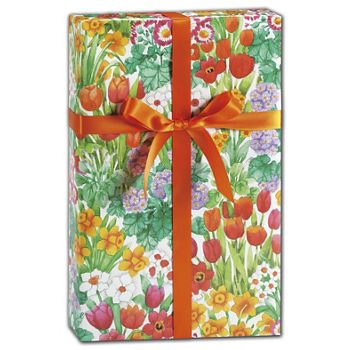 "The Cutting Garden Gift Wrap, 24"" x 100'"