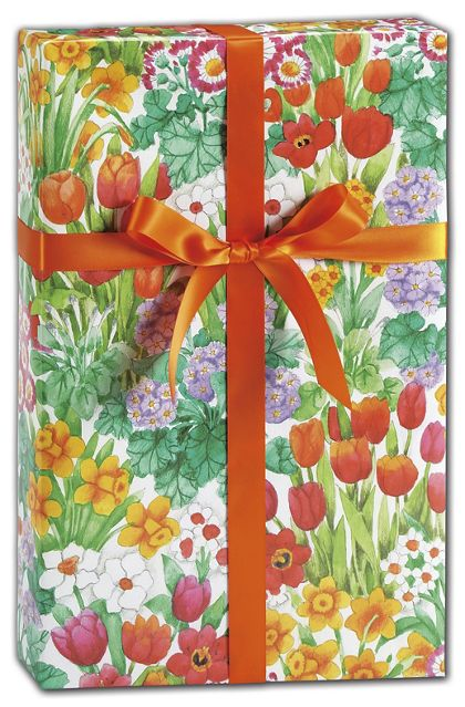 "The Cutting Garden Gift Wrap, 24"" x 100'"