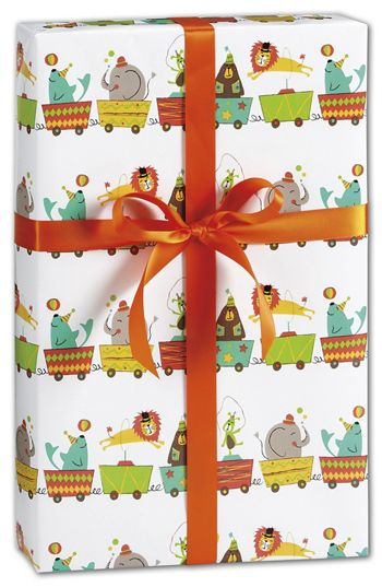 Big Top Circus Gift Wrap, 24