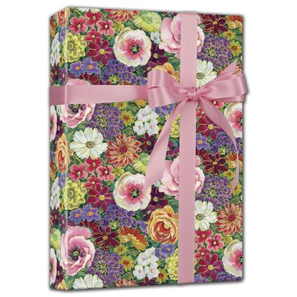 "Always in Bloom Gift Wrap, 24"" x 100'"