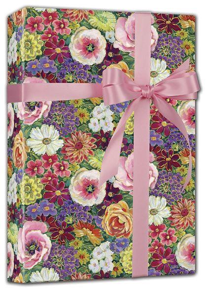 "Always in Bloom Gift Wrap, 24"" x 417'"