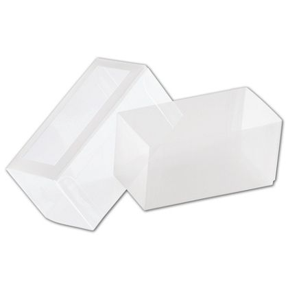 """Frosted Window Boxes, 2 3/4 x 1 3/8 x 1 3/8"""""""