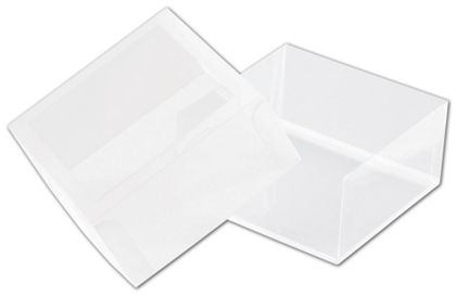 Frosted Window Boxes, 2 3/4 x 2 3/4 x 1 3/8""