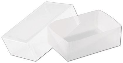 Frosted Window Boxes, 4 1/8 x 2 3/4 x 1 3/8""