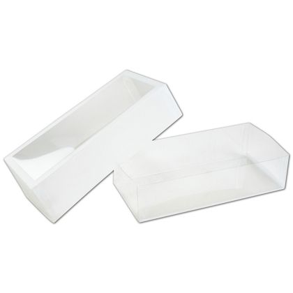 Frosted Window Boxes, 5 1/2 x 2 3/4 x 1 3/8""
