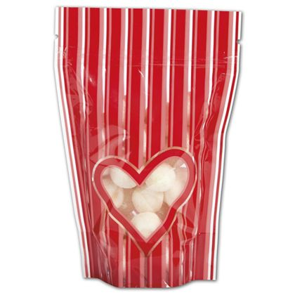 Stole My Heart Food-Safe Zipper Pouches, 4 x 6