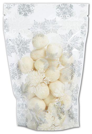 Let it Snow Food-Safe Zipper Pouches, 4 x 6