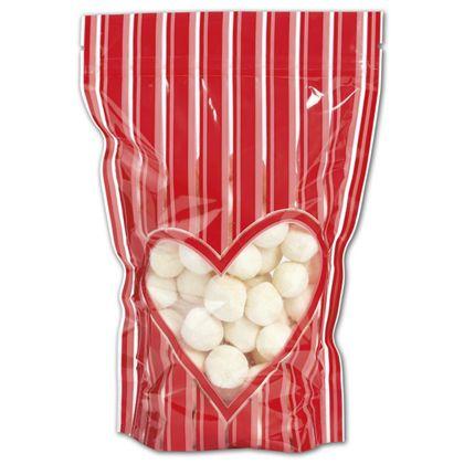 "Stole My Heart Food-Safe Zipper Pouches, 6x9""+2 1/2"" BG"