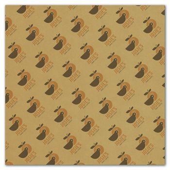 Carmel Food Grade Tissue Paper 2 Colors/1 Side, 12 x 12