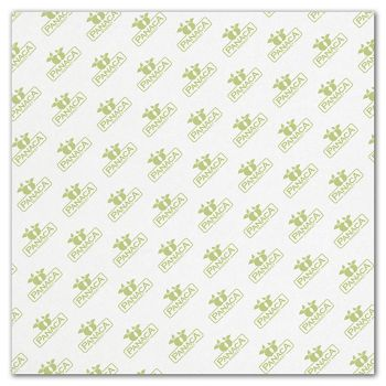 White Food Grade Tissue Paper 1 Color/1 Side, 12 x 12
